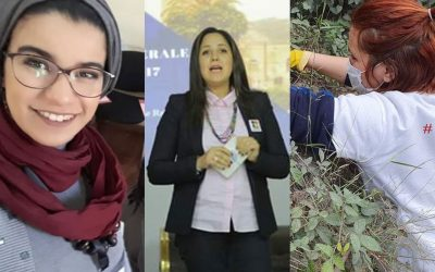 Souha, Assia et Kawter, three Algerian women committed to the environment