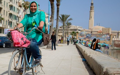 In Alexandria, Marwa and Manar are fighting for access to culture and for the environment